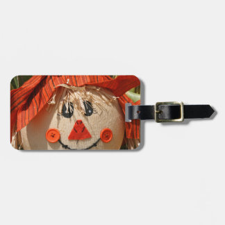 scarecrow luggage tag