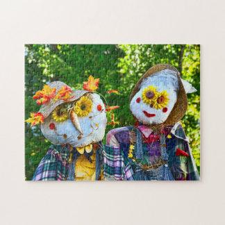 Scarecrow Mahon Bay Festival Nova Scotia. Jigsaw Puzzle