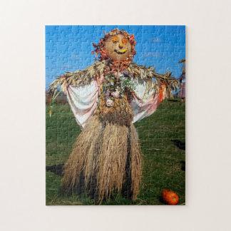 Scarecrow  Minnesota. Jigsaw Puzzle