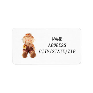 """SCARECROW"" OR ""FALL"" ADDRESS LABELS"