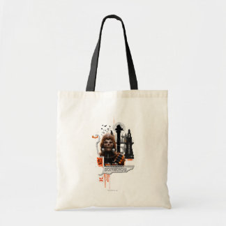 Scarecrow Orange Graphic Budget Tote Bag