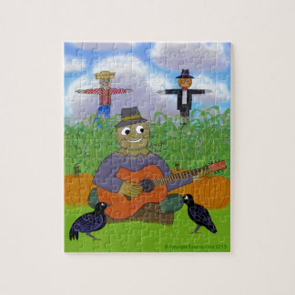 Scarecrow Playing Guitar Puzzle