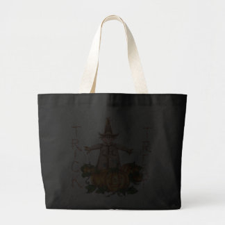 SCARECROW & PUMPKIN PATCH by SHARON SHARPE Tote Bag