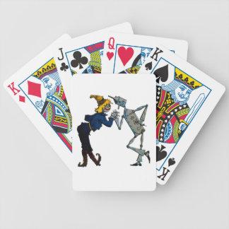 Scarecrow & Tin Man Deck Playing Cards Wizard Oz