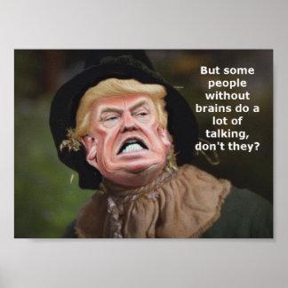 Scarecrow Trump Poster