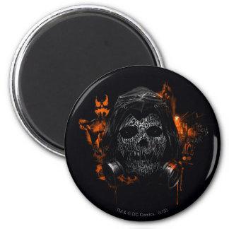 Scarecrow - Welcome To Gotham City 6 Cm Round Magnet