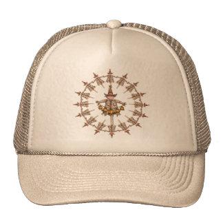 SCARECROW WREATH & PUMPKIN GARLAND/ SHARON SHARPE CAP
