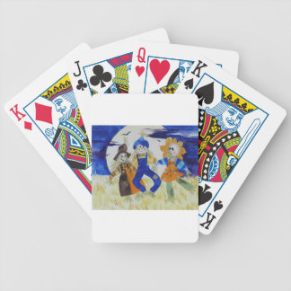 Scarecrows Dancing Bicycle Playing Cards