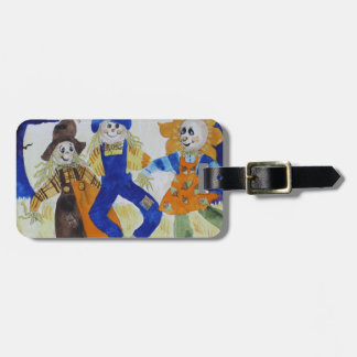Scarecrows Dancing Luggage Tag