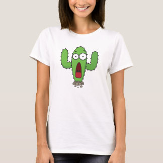 Scared Cactus T-Shirt