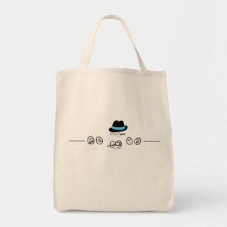 Scared Eggs Grocery Tote