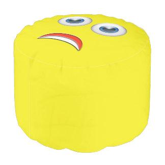 Scared Emoji Pouf