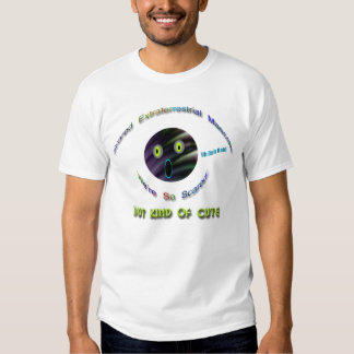 Scared Extraterrestrial Mascots Tshirts