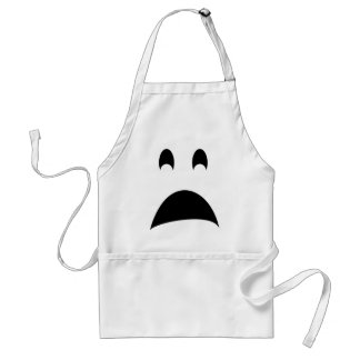 SCARED GHOST STANDARD APRON