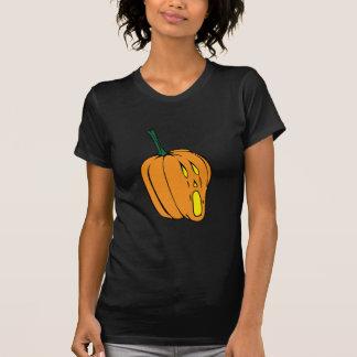 Scared Jack-o-Lantern T-Shirt