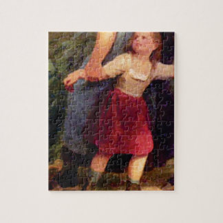scared little girl jigsaw puzzle