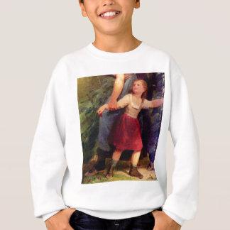 scared little girl sweatshirt