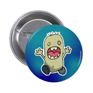 Scared Monster Pin
