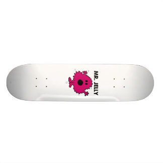 Scared & Nervous Mr. Jelly 21.3 Cm Mini Skateboard Deck