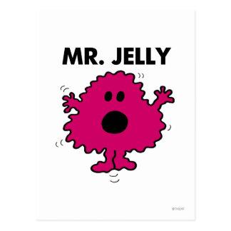Scared & Nervous Mr. Jelly Postcard