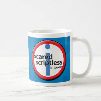 Scared Scriptless Mug - Your name here!