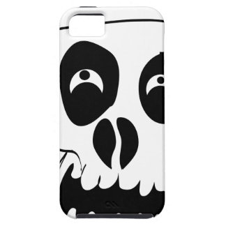 Scared Skull iPhone 5 Case