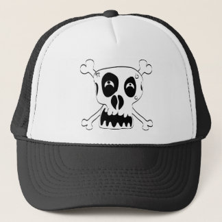 Scared Skull Trucker Hat