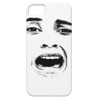 Scared Woman Expression iPhone 5 Case