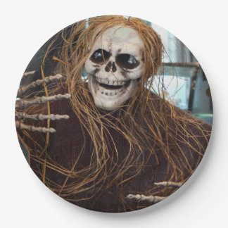 Scared Yet? Halloween Party Paper Plates
