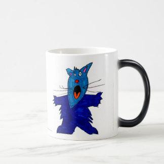 Scaredy Cat • Cooper Nielsen, Age 10 - morph mug
