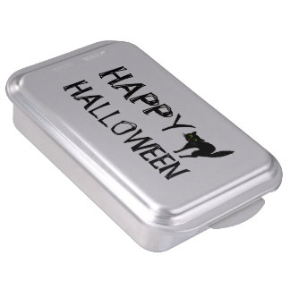 Scaredy Cat Happy Halloween Party Supplies Cake Pan