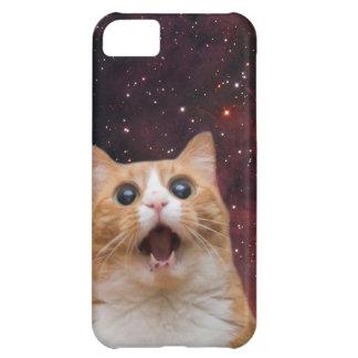 scaredy cat in space iPhone 5C case