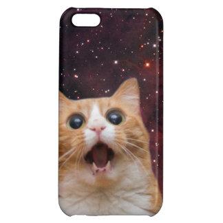 scaredy cat in space iPhone 5C cover