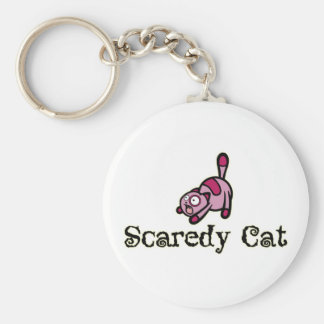 Scaredy Cat Key Ring