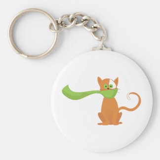 Scarf Cat Key Chains