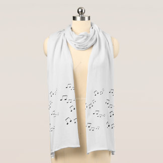 Scarf - Musical Notes