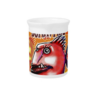 scarface fish beverage pitchers