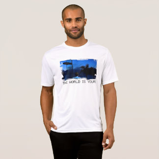 Scarface The World is Yours Mens T-Shirt