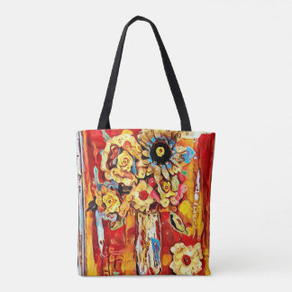Scarlet Air Tote Bag