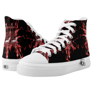 Scarlet Electric High Tops