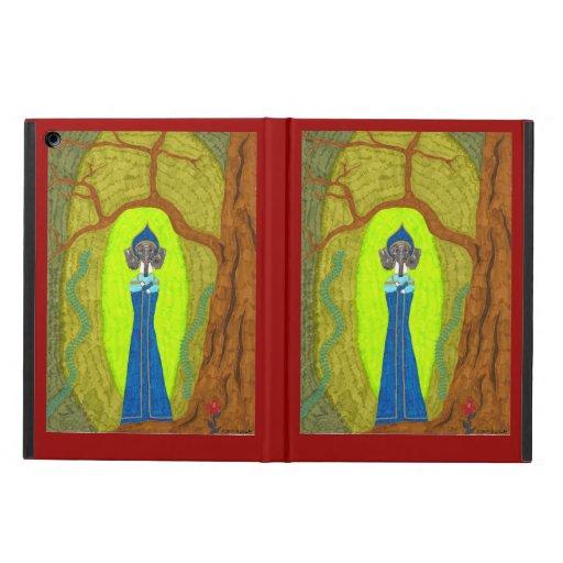 Scarlet Flower (Dachshund Version) iPad Air Cases