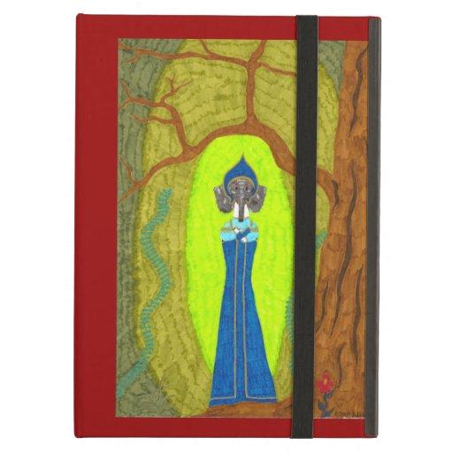 Scarlet Flower (Dachshund Version) iPad Folio Case