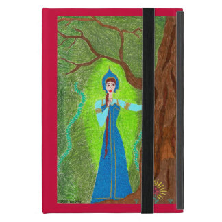 Scarlet Flower Case For iPad Mini