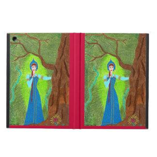 Scarlet Flower iPad Air Cases