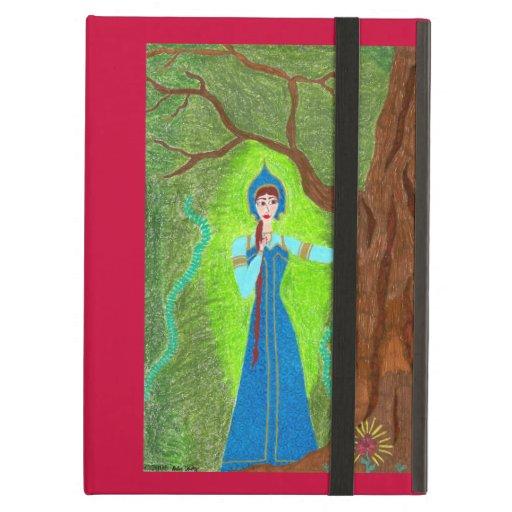 Scarlet Flower iPad Case