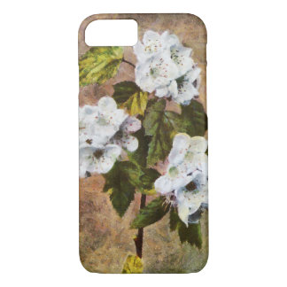Scarlet Haw Tree Retro Painted iPhone 8/7 Case