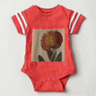 Scarlet Ixora Baby Bodysuit