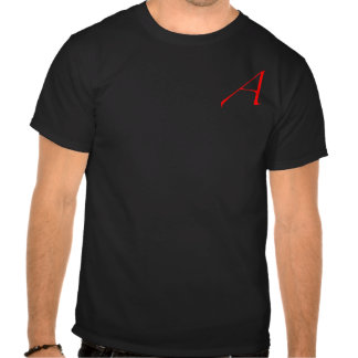 Scarlet Letter A / Atheism T Shirts