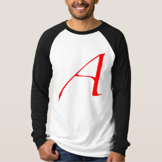 Scarlet letter A (for Atheist) T-Shirt