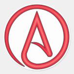 Scarlet Letter Atheist Symbol